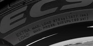 Max Load & Pressure Tire Graphic